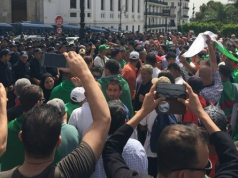 Algerian Protesters Target Army Chief of Staff General Gaid Salah