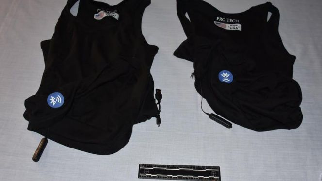 Rabat's Judiciary Police Seize Vests Used for Baccalaureate Cheating, Arrest 2