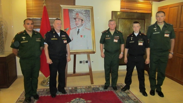 Russian Military Delegation Visits Morocco