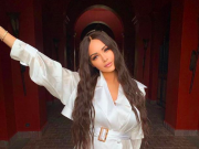 French Reality Stars Nabilla and Thomas Vergara Celebrate Babymoon in Marrakech