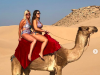 Model Ashley Graham Receives Backlash for Riding Camel in Morocco
