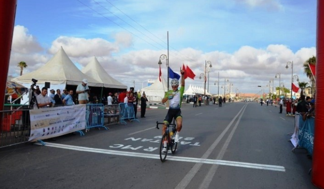 South African TEG Procycling Rider Jason Oosthuizen Comes in First in Morocco Race