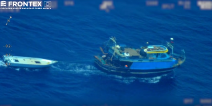 Video of Smugglers Abandoning Migrants in Mediterranean Sea Goes Viral