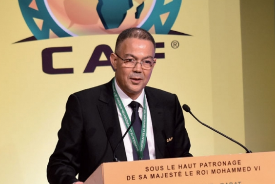 CAF Executive Committee Appoints Fouzi Lekjaa CAF's 2nd Vice President