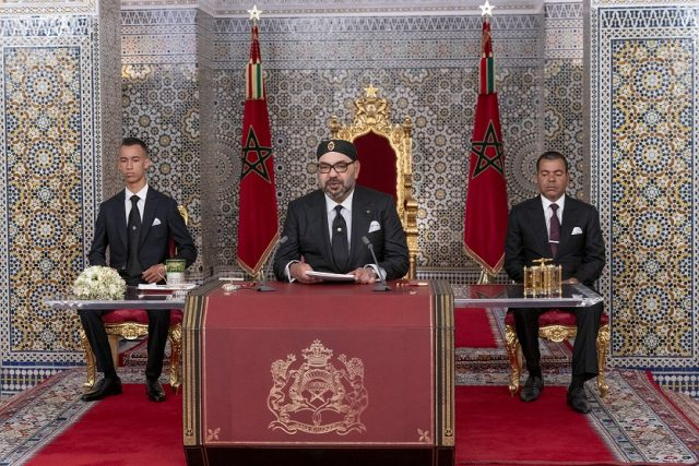 King Mohammed VI Delivers Throne Day Speech From Tetouan