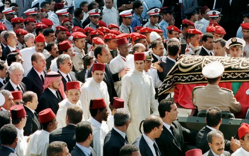 Funeral of late Monarch Hassan II of Morocco
