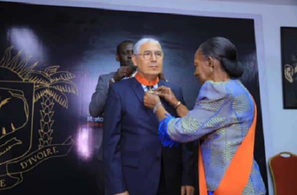 Ivory Coast Honors CEO of Attijariwafa Bank With National Order Medal