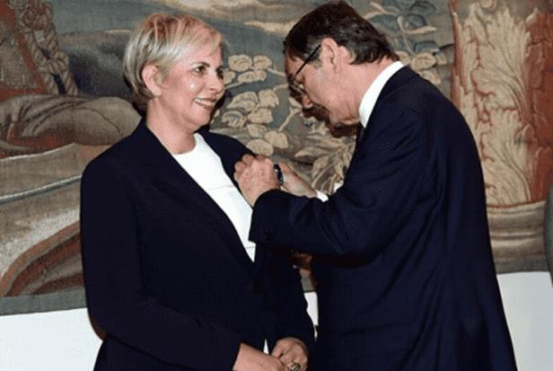 King Felipe VI of Spain Decorates Moroccan Nezha Hayat
