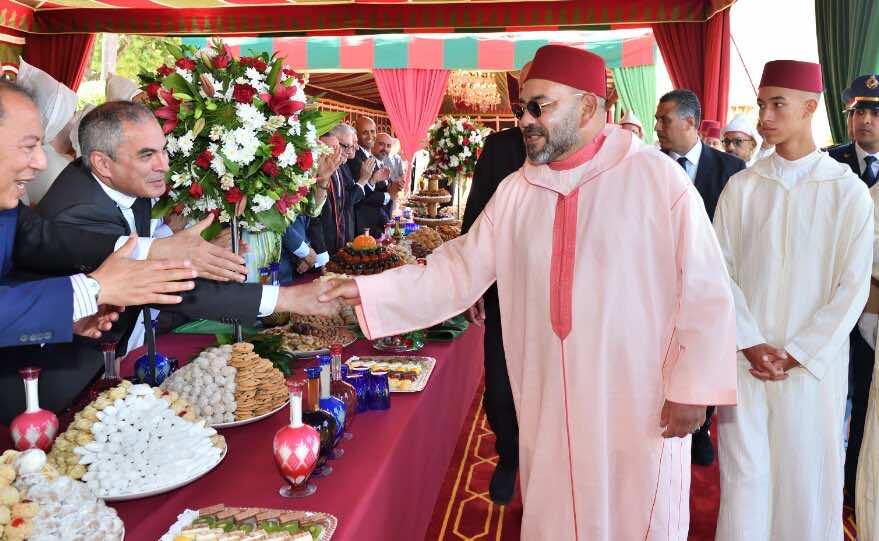 King Mohammed VI Presides over 20th Throne day Celebrationin Tangier