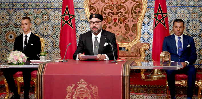 King Mohammed VI Addresses Social Disparities in King and People's Revolution Speech