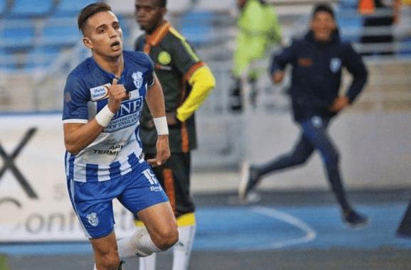 Moroccan Football Player Ahmed Hamoudan