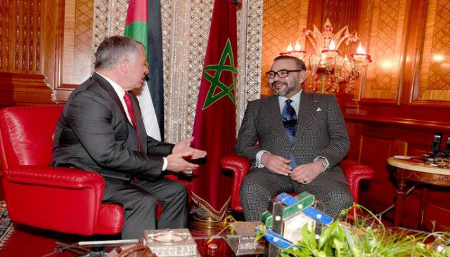 Morocco, Jordan Determined to Develop Strategic Partnership