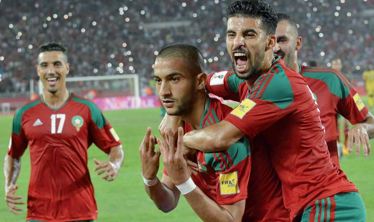 Morocco Moves Up 6 Places in New FIFA  World Rankings
