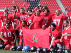 Morocco's american football team