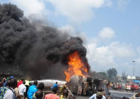 Oil Tank Explodes in Nigeria Killing 50 and Injuring 101