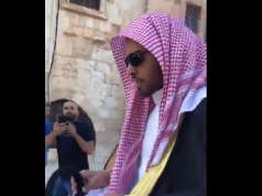 Palestinians Force Saudi pro-Israel Blogger Mohammed Saud Out of Al Aqsa Mosque