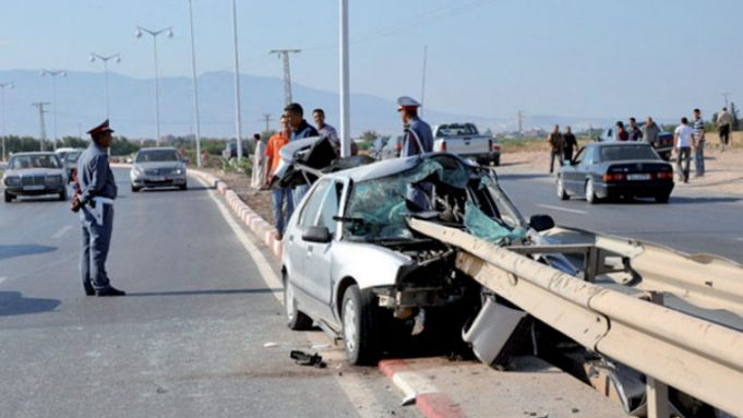 Traffic Accidents in Morocco Kill 13 and Injure 1,375 Injured Over 1 Week