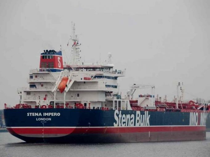 UK Urges Iran to Release British Oil Tanker and Crew Immediately