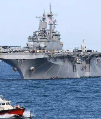 US US Navy Destroys Iranian Drone in Strait of Hormuz