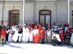 Moorish Science Temple of America Represents Morocco at Flag-Raising Ceremony