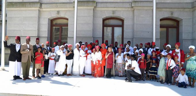 Moorish Science Temple of America Represents Morocco at Flag-Raising Ceremony