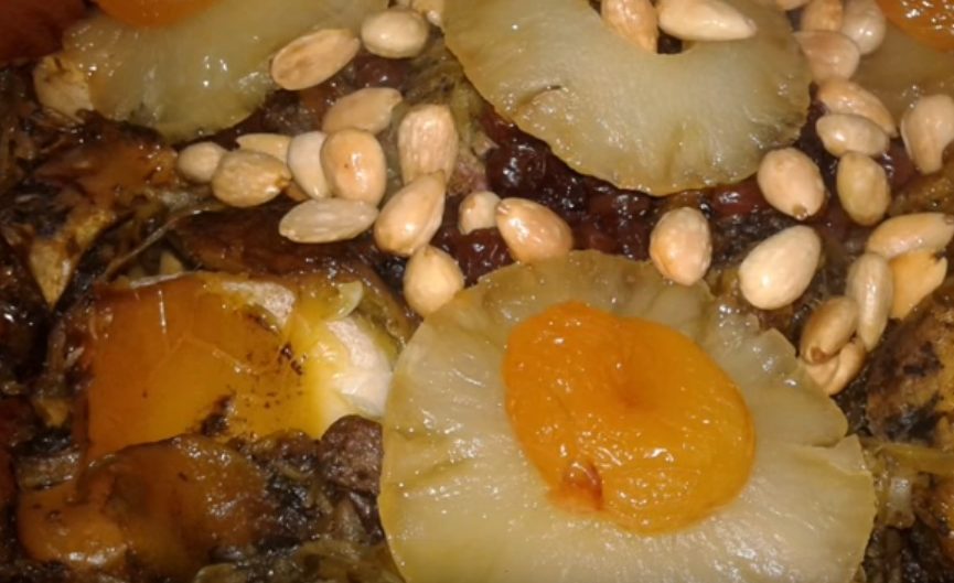 A Taste of Morocco: Lamb with Caramelized Apricots and Pineapple