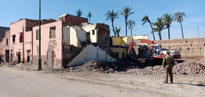 Authorities in Marrakech Demolish House Built in the Old Medina Ramparts