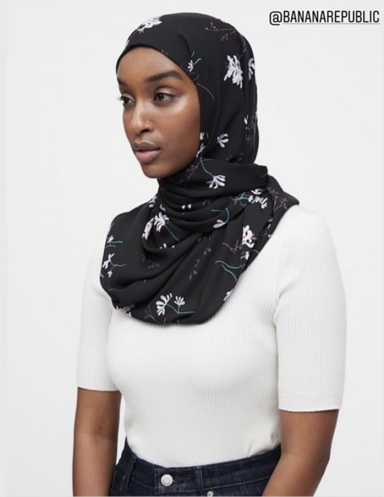 Banana Republic's new Hijab Line Sparks Debate on Muslim Dress Standards