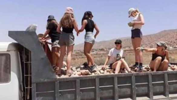 Belgian Youth Spend Summer Building Road in Morocco's Taroudant