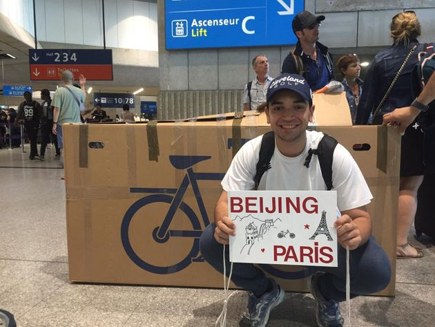 French-Moroccan Student to Cycle from Paris to Beijing