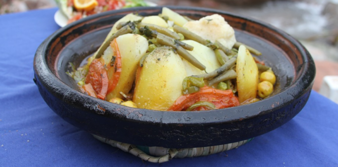How to Make a Moroccan Lamb and Vegetable Tagine
