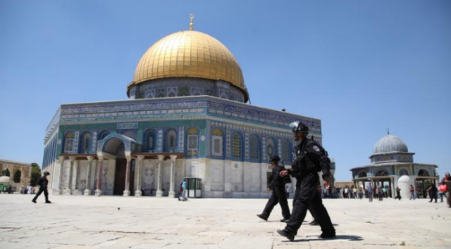 Israeli Troops Assault Palestinian Worshippers at Al Aqsa Mosque during Eid Al Adha Prayer