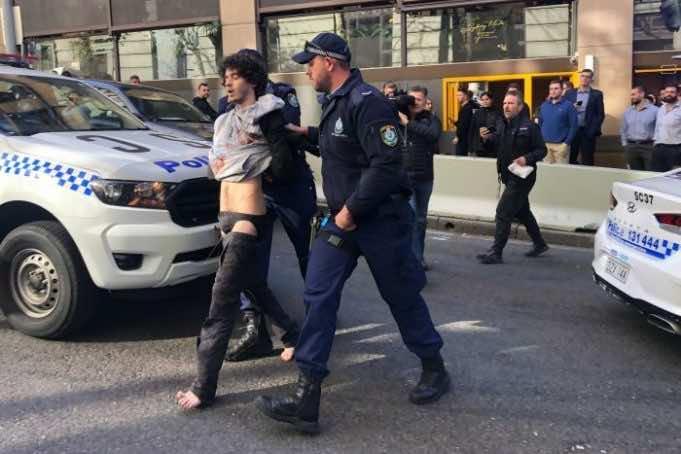 Man Stabs a Woman in Sydney Shouts Allahu Akbar