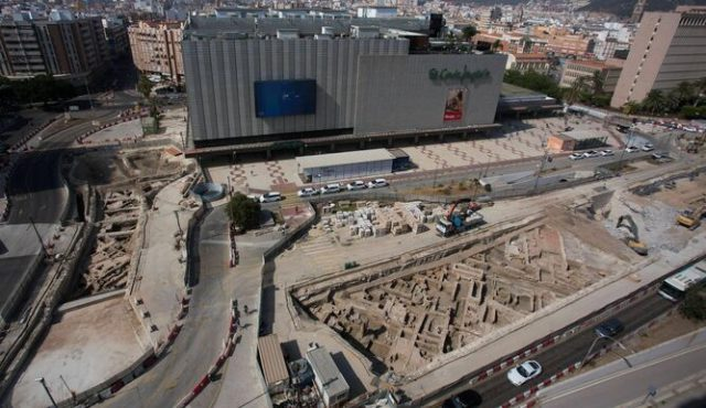 Metro Construction in Malaga Destroys 11th Century Moorish Ruins