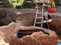 Ministry of Culture Continues Excavation on Dar El Baroud Site in Sale