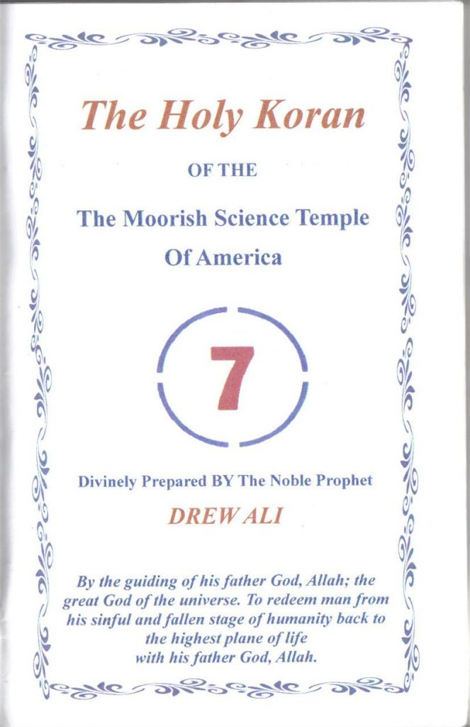 Moorish Science Temple of America Represents Morocco at Flag