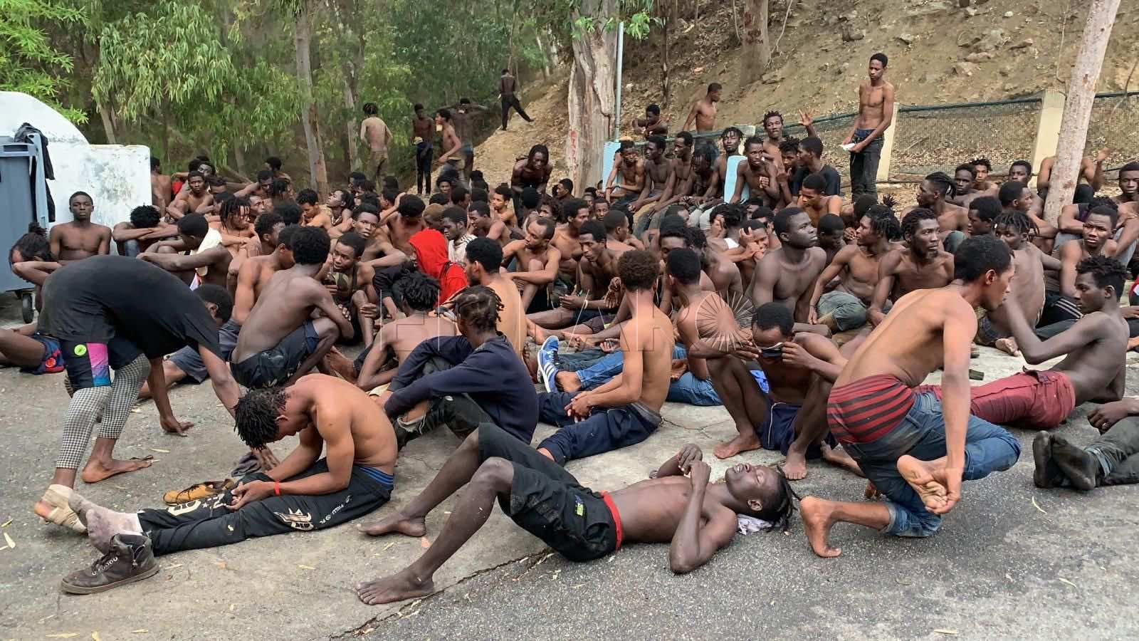 More Than 150 Irregular Migrants Cross Ceuta Border