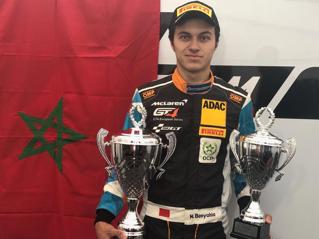 Moroccan Driver Michael Benyahia Places 1st at GT4 ADAC Nurburgring Racing Track