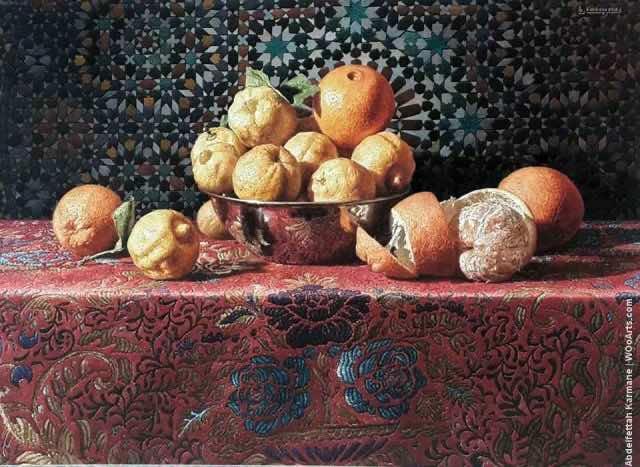 Morocco's Abdelfettah Karmane Wins 'Mondial Art Academy' Prize