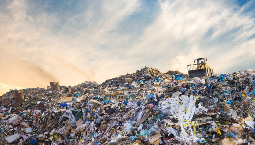 """Most of Morocco's waste ends up in landfill. Mediouna landfill on the outskirts of Casablanca receives 1.2 million tons of waste per year. """"It's going to arrive at 99% saturation,"""" warns Kabbaj."""