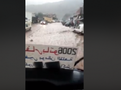 Rain Storms Cause Floods Near Marrakech