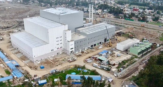 The Reppie facility in Addis Ababa, Ethiopia, is Africa's first waste-to-energy plant.