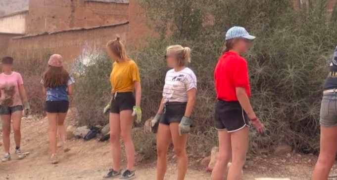 Women in Casablanca March in Shorts in Solidarity With Belgian Volunteers