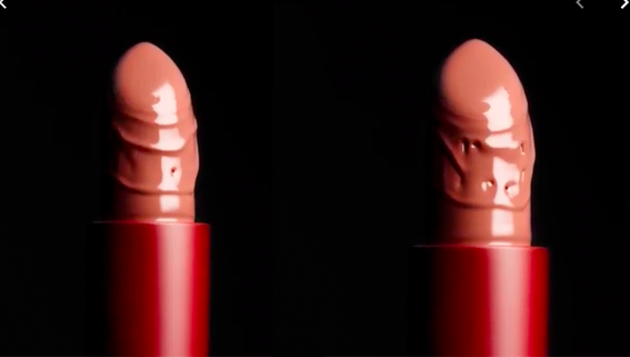 "Nars Promotes ""Morocco"" Lipstick Shade With Phallic Campaign"