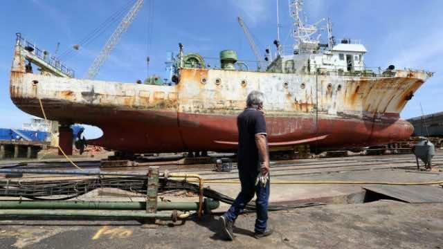 Spanish Shipyard Repairs Moroccan Oceanographic Research Vessel