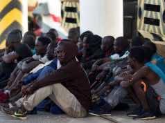 The Moroccan navy rescues 63 sub-Saharan migrants