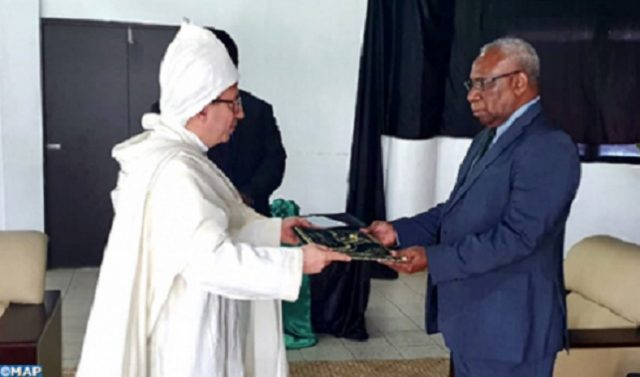 Karim Medrek Presents His Credentials as New Moroccan Ambassador to Vanuatu