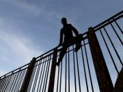 Young Moroccan Attempts to Cross Ceuta's Port