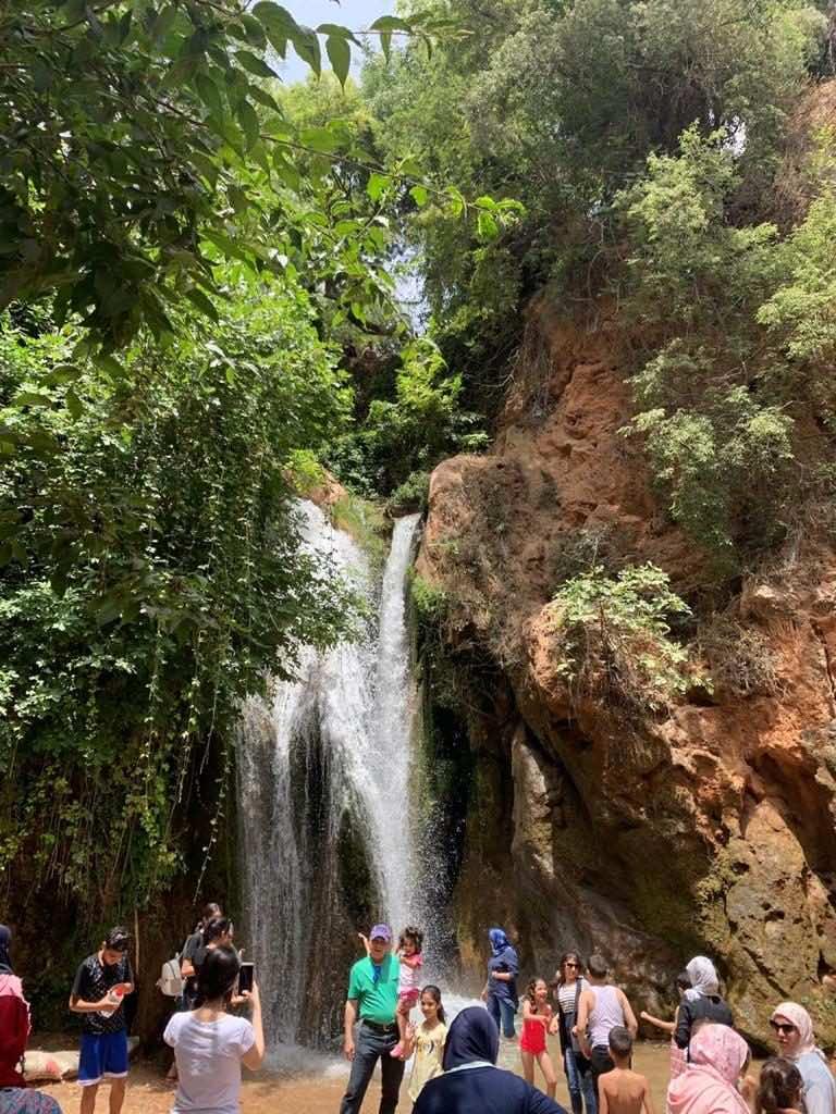 Sefrou's cascade