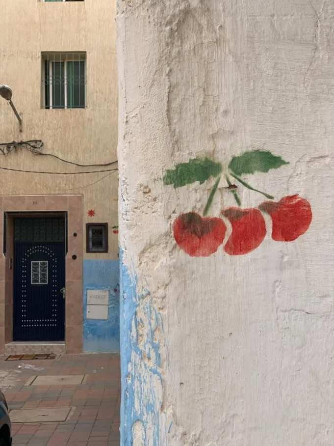 Sefrou's famous cherries